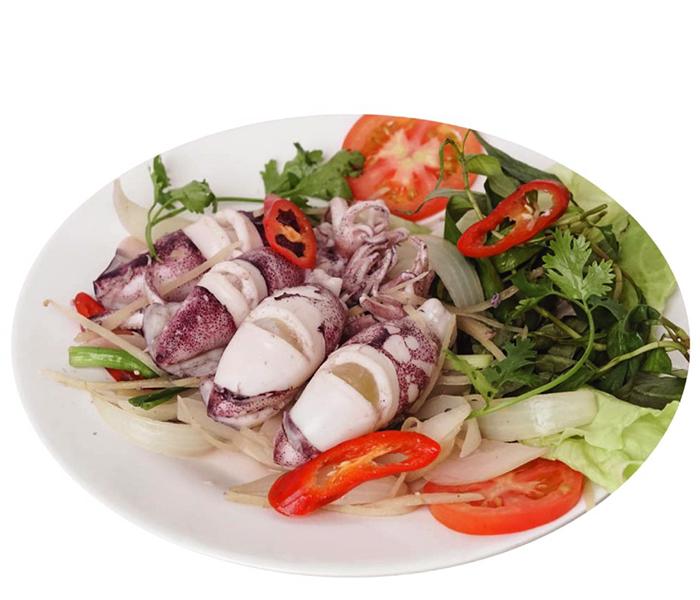 Mực hấp là món ăn thơm ngon bổ dưỡng