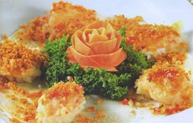 Món mực bách hoa rang muối lạ mà ngon