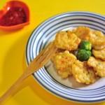 Món chả mực đậu phụ thơm ngon hấp dẫn
