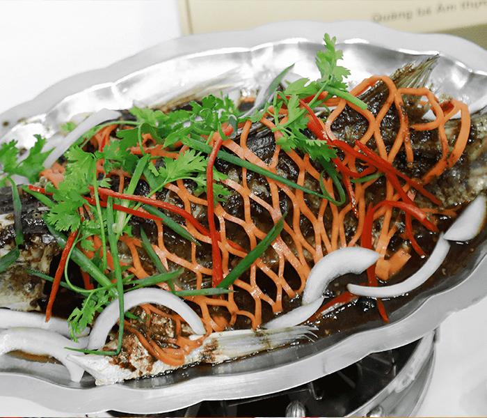 Cá Vược hấp đảm bảo giữ được vị ngon và dinh dưỡng nhất