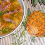 Canh bạch tuộc nấu dứa món ngon Hạ Long
