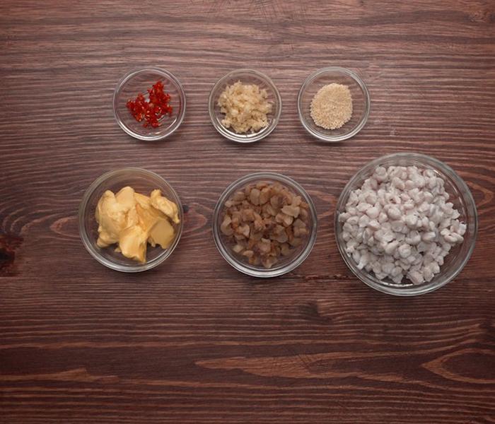 Nguyên liệu để làm món răng mực