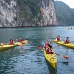 Du lịch Hạ Long bằng thuyền Kayak