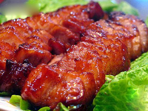 Thịt xá xíu ngon độc đáo