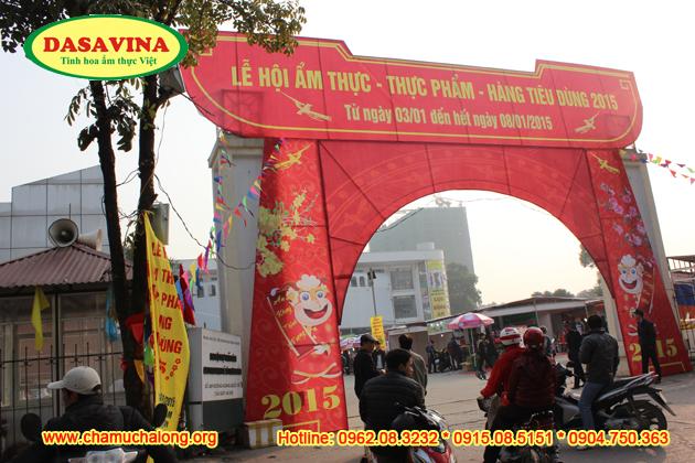 Hội chợ ẩm thực - thực phẩm - hàng tiêu dùng 2015 đang diễn ra tại Trung tâm triển lãm nông nghiệp Việt Nam số 489 Hoàng Quốc Việt