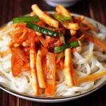 Công thức làm món mì mực Hàn Quốc cay nồng, ngon tuyệt