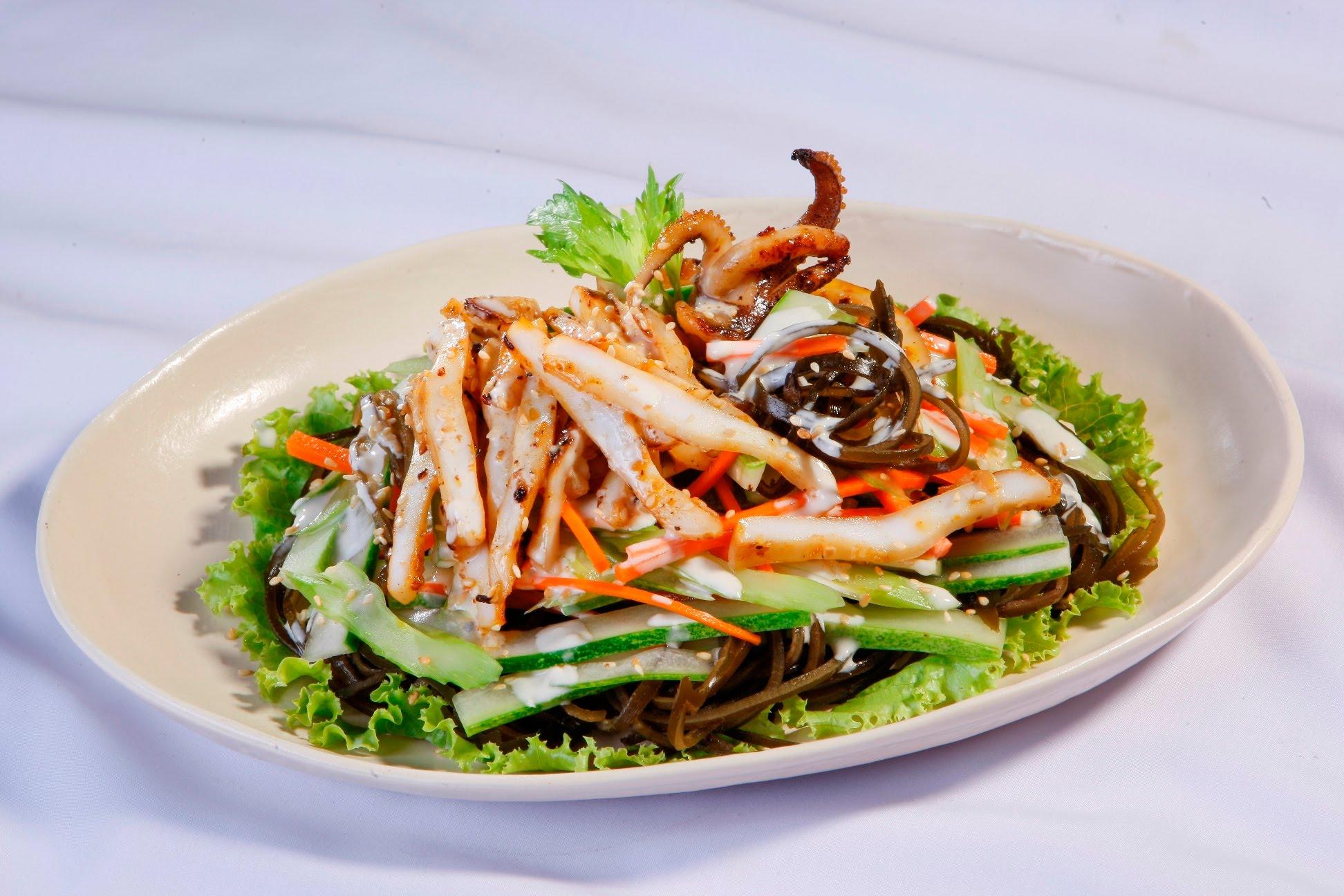 Salad mực phổ tai cực kỳ ngon miệng