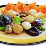 Thay đổi thực đơn với món sò điệp sốt măng tây ngon tuyệt
