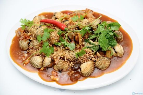 Image result for sò huyết rang me