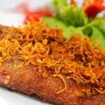 Thơm giòn cá hường chiên sả ớt