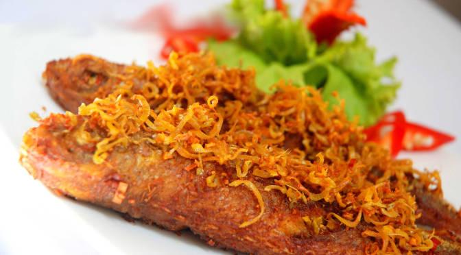 Cá hường chiên sả ớt thơm ngon