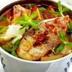 Canh cá tầm nấu canh chua thơm ngon, bổ dưỡng