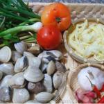 Bữa tối thanh nhẹ với canh măng nấu ngao