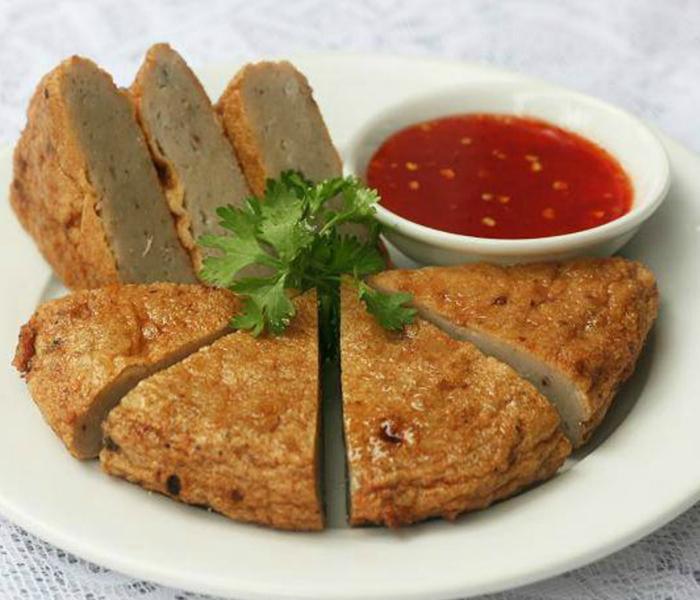 Chả cá Nha Trang chắc thịt, dai, giòn