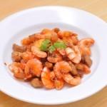 Thay đổi thực đơn với món tôm rim mặn ngọt