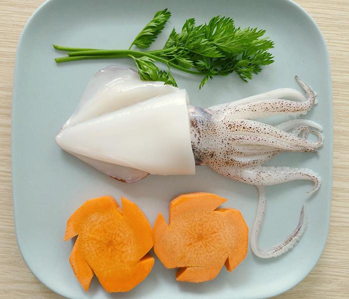 Mực là nguyên liệu chế biến thành nhiều món ăn thơm ngon bổ dưỡng